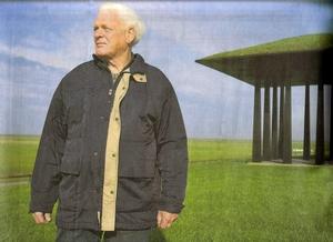 Boer en waterschapsman Herre Kingma: 'Ik bin arich stormvast. Mar ik in my wel opwine over onrechtfaardigheden.' Foto Laurens Aaij