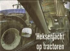 De landbouwmachines zijn groter geworden, het begrip van de burger voor de boer kleiner. Foto LC/Wietze Landman (gescand)